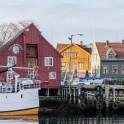 Северная Норвегия. Заполярный регион Nord Norge. Город Skjervoy на острове Skjervoya. Фото - Тамара Столбова