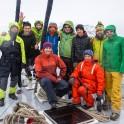 """Северная Норвегия. Команда проекта RTP на яхте """"Alter Ego"""". Фото - Кирилл Савченко"""