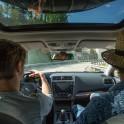Регион Сочи. Subaru Outback - официальный автомобиль проекта RideThePlanet. Съемочная группа проекта RTP Константин Галат и Артем Кузнецов. Фото – Андрей Желенков