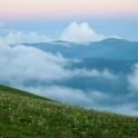 Абхазия. Панорама на плато Мамзышха с хребта Берчиль. Фото – Константин Галат