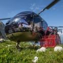 Абхазия. Вертолет Alouette, пилот – Сергей Навроцкий. Фото – Константин Галат