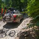 Регион Сочи. Заброска команды проекта RTP на начало велосипедного трейла. Subaru Outback – официальный автомобиль проекта RideThePlanet. Фото – Константин Галат