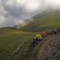 Западная Абхазия. Лагерь команды RideThePlanet на высоте 2300 метров. Фото – Артем Кузнецов
