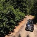Западная Абхазия. Заброска команды RTP на хребет Берчиль. Subaru Outback - официальный автомобиль проекта RideThePlanet. Фото – Артем Кузнецов