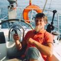 Греция. Шкипер яхты Михаил Крутянский. Фото – Max Irman