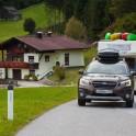 Австрия. Subaru Outback – официальный авто проекта RideThePlanet. Фото – Константин Галат