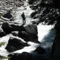 Австрия, река Isel. Каякер Михаил Крутянский. Фото – Михаил Селезнев