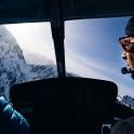 Италия. Регион Ливиньо. Заброска команды RTP на вертолете в район катания и съемок. Фото – Данила Ильющенко