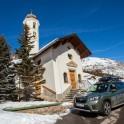 Италия. Регион Ливиньо. Subaru Forester - официальный автомобиль проекта RideThePlanet. Фото – Константин Галат