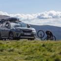 Каталония. Долина Валь де Бои. Райдеры забросились на автомобиле в горы для катания и съемок. Subaru Forester - официальный автомобиль проекта RideThePlanet. Фото - Константин Галат