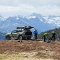 Каталония. Долина Валь д'Аран. Райдеры забросились для катания в верховья одного из ущелий. Subaru Forester - официальный автомобиль проекта RideThePlanet. Фото - Константин Галат