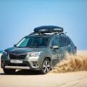 Казахстан. Побережье Каспийского моря. Subaru Forester - официальный авто проекта RideThePlanet. Фото - Константин Галат