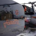 Бурятия. Прибайкалье. Вертолет Alouette компании Heliaction. Фото - Григорий Корнеев