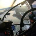 Бурятия. Прибайкалье. Вертолет Alouette компании Heliaction, пилот Александр Давыдов. Фото - Константин Галат