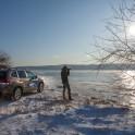 Бурятия. Озеро Байкал. Subaru Forester - официальный авто проекта RideThePlanet. Григорий Корнеев. Фото – Константин Галат