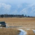 Бурятия. Тункийская долина. Subaru Forester - официальный авто проекта RideThePlanet. Фото – Константин Галат
