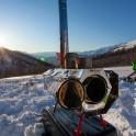 Грузия, регион Верхняя Рача. Базовый лагерь команды RideThePlanet в долине массива Караугом. Фото – Константин Галат