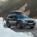 Грузия, регион Верхняя Рача. Subaru Forester - официальный авто проекта RideThePlanet. Фото – Константин Галат