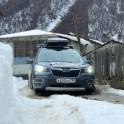 Грузия, регион Верхняя Рача. Дкеревня Геби. Subaru Forester - официальный авто проекта RideThePlanet. Фото – Владимир Горлов