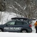 Грузия, регион Верхняя Рача. Subaru Forester - официальный авто проекта RideThePlanet. Рустам Ибрагимов. Фото – Владимир Горлов