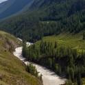 Горный Алтай. Мажойский каскад на реке Чуя. Фото - Константин Галат