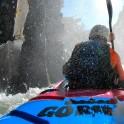 Горный Алтай. Река Куркуре. Каякер Алексей Лукин. Фото - GoPro