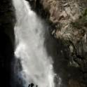 Горный Алтай. Водопад на реке Куркуре. Константин Галат. Фото - Владимир Горлов