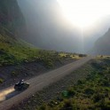 Горный Алтай. Долина реки Чулышман. Subaru Forester - официальный авто проекта RTP. Фото - Владимир Горлов
